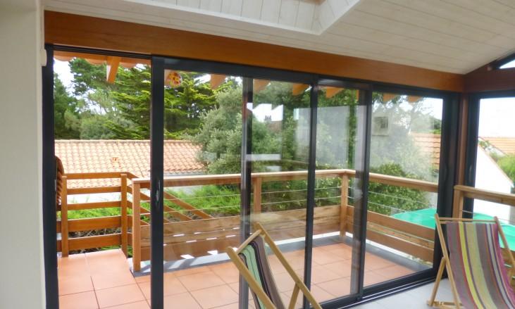 Extension sur une terrasse existante gr ce une v randa civel civel - Extension sur terrasse ...