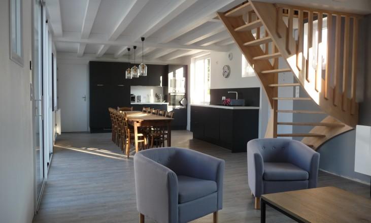 extension et r novation d 39 une ancienne maison civel. Black Bedroom Furniture Sets. Home Design Ideas